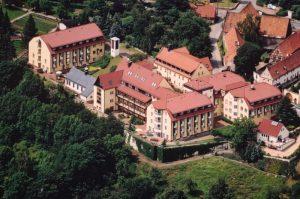 Luftaufnahme unseres Klosters