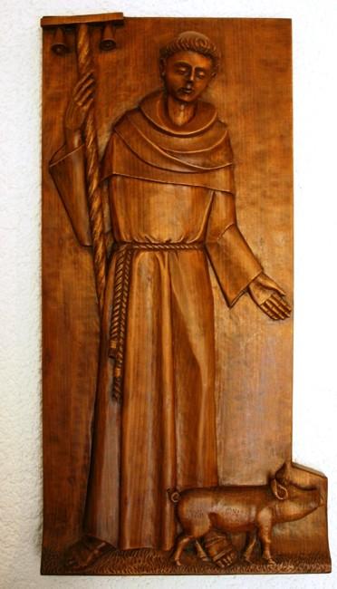 Relief des hl. Antonius
