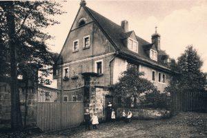 Mutterhaus in Goppeln um 1930