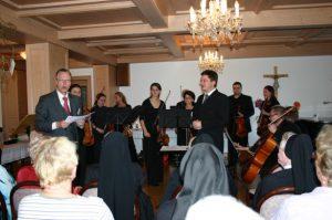 Umrahmung durch das Kammerorchester Heidenau