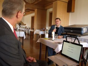 Vortrag von Herrn Pfr. Delan über Kaplan Alois Andritzki