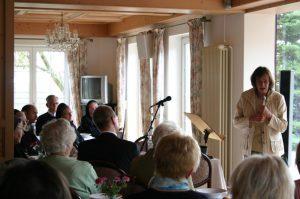 Vortrag von Frau Seewald über den verstorbenen Herrn Bischof Schaffran