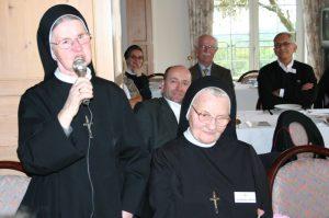 Schw. Gregoria und Schw. Jakoba waren viele Jahre in der Haushaltsführung beim Bischof Schaffran tätig