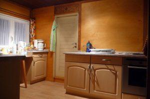 Ferienhaus - komplett ausgestattete Küche