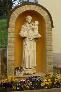 Der Heilige und die Klosterkatze