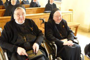 Die beiden Jubilarinnen Schwester M. Edmunda und Schwester M. Mechtildis