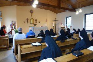 Festgottesdienst: Domdekan Ullmann bei seiner Predigt
