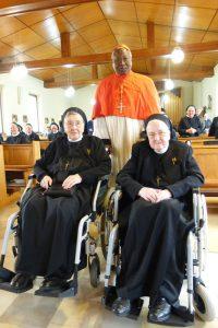 Herr Kardinal Owedraoge Philippe mit unseren beiden