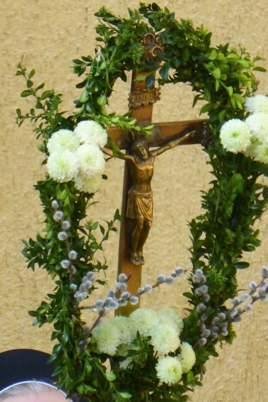 Palsonntag - geschmücktes Kreuz