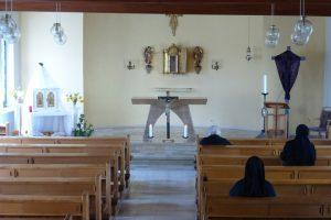 Klosterkirche am Karfreitag
