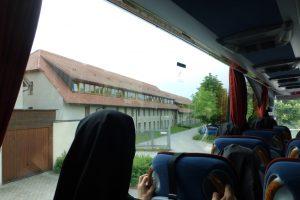 Ankunft im Kloster Helfta