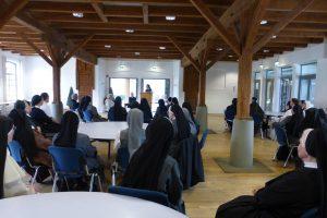 Begrüßung und Vortrag über das Kloster Helfta