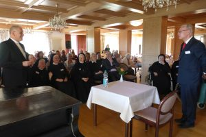 ein großer Dank an unsern Bischof für den sehr guten Vortrag