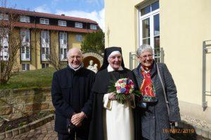 Schwester Christophora mit ihren Verwandten