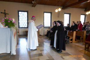 Segensgebet von Herrrn Bischof
