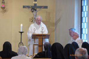 Gottesdienst - Herr Pfarrer Dr. Dittrich bei der Predigt