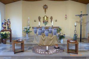 Vesper mit Meditation von Schw. Cäcilia über die Hochzeit zu Kana